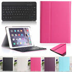 F Apple iPad air 2 Slim Leather Case Cover Removable Wireless Bluetooth Keyboard