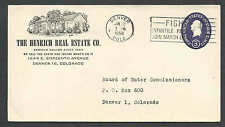 1958 COVER DENVER CO HENRICH REAL ESTATE CO WE SELL THE EARTH & INS WHATS ON IT