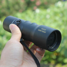 16 X 40 Adjustable Focus Optical Monocular Compact Handy Pocket w/ Carry Case
