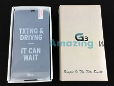 Unlocked LG G3 D850 - 32GB - Metallic Black (AT&T). EXCELLEN Condition WITH EXTS