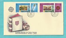Jersey CI Channel Islands First Day Cover FDC 1983 Government and Law