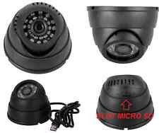 CCTV DOME USB camera videocamera sicurezza  infrarossi con DVR Micro SD registra