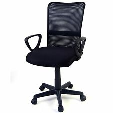 New Mid-back Adjustable Ergonomic Mesh Swivel Computer Office Desk Durable Chair