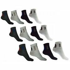 Mens Ankle Length Cotton Socks (Pack Of 6 Pairs)