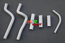 for Honda CR500 CR500R CR500 R silicone radiator hose 1995-2001 white