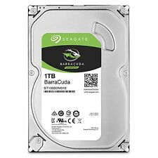Seagate 1TB BarraCuda SATA 6Gb/s 64MB Cache 3.5-Inch Internal Hard Drive