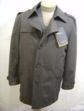 Remove Lined 2in1 L Jacket Pea Coat Trench Button Waterproof Yorke Durable Gray