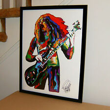 Geezer Butler, Black Sabbath, Bass, Heavy Metal, Hard Rock, 18x24 POSTER w/COA