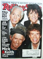 ROLLING STONES Stone Magazine RS 1183 May 2013 Mick Keith Uneasy Peace KanyeWest