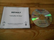 CD Pop Default - Taking My Life Away (1 Song) POLYDOR ISLAND sc