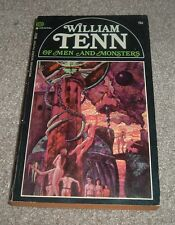 1968 OF MEN AND MONSTERS William Tenn 1st Printing Ballantine Paperback SCIFI