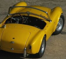 1 Ford 1964 Shelby Cobra Vintage Sport Car Rare GT Race 12 Carousel Yellow 18 40