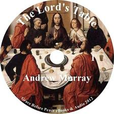 The Lord's Table, a Classic Christian Audiobook by Andrew Murray on 1 MP3 CD