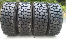 4 NEW 10X16.5 Skid Steer Tires 10-16.5-10 ply rating-HEAVY DUTY, non directional