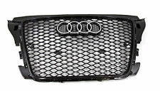 Audi A3 RS3 Style front grille gloss black mesh titanium replica 08 09 10 11 12