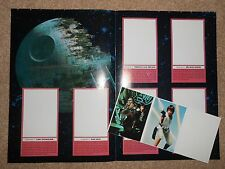STAR WARS COMIC BOOK  1992  featuring INDIANA JONES with Free SW Sticker Album