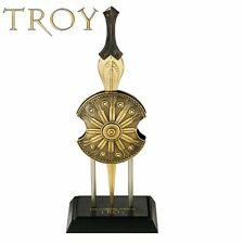 Troy Letter Opener Achilles Sword and Shield Licensed Replica by Noble NN4551