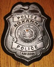 THE POLICE ROXANNE BADGE SHAPED PROMO PICTURE DISC  1979