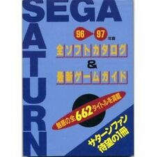 SEGA SATURN All Software Collection Catalog Book 1996-1997 / SS