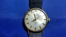 Vintage Lucien Piccard Automatic Shashark 14k Gold Top Men's Watch
