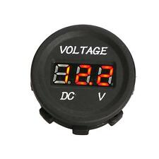 LED Digital Voltmeter Socket for Honda Goldwing 1100 1200 1500 1800 Valkyrie