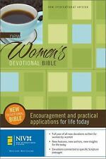 New Women's Devotional Bible (2006, Hardcover, Revised, New Edition)
