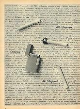 PUBLICITE ADVERTISING 025  1959  Les briquets DUPONT