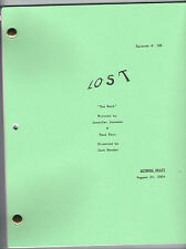 "LOST show script ""The Moth"""