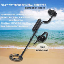 MD-7020C Professional Underwater Diving Waterproof Metal Detector w/ Headphones
