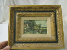Vintage Print Decotique Vogue styled by Reliable The Haywain by Constable #6893A