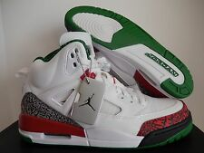 NIKE AIR JORDAN SPIZIKE OG WHITE-VARSITY RED-CEMENT GREY SZ 12 [315371-125]