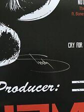 Eminem Signed 24x36 Southpaw Poster - Obtained Directly From Eminem!  Slim Shady