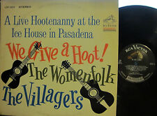 ► The Womenfolk & The Villagers - We Give a Hoot! (Live Hootenanny: 1 side by ea