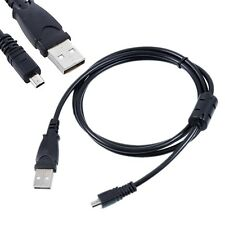 USB DC Battery Charger Data SYNC Cable Cord Lead For Nikon Coolpix P510 camera