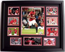 New Paul Pogba Signed Manchester United Limited Edition Memorabilia Framed