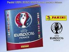 Panini UEFA EURO 2016 FRANCE Sticker Album NEW EMPTY 6 Free Sticker Topps Merlin