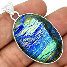 Azurite 925 Sterling Silver Pendant  Jewelry PP21754