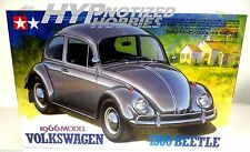 Tamiya 1/24 1966 Volkswagen 1300 Beetle Plastic Model Kit 24136