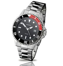 Sekonda Black Dial Stainless Steel Bracelet Gents / Mens Watch 3078