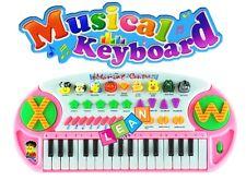 Kinder Piano Keyboard Klavier Musikinstrument 32 Tasten Rosa