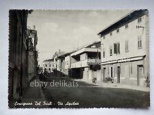CERVIGNANO DEL FRIULI Via Aquileia Udine vecchia cartolina