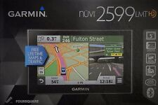 Garmin Nuvi 2599 LMT GPS, Bluetooth, Voice-Activated, Lifetime Maps, ONO, NEW