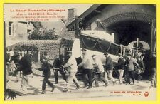 cpa Rare BARFLEUR STATION de SAUVETAGE Sortie du CANOT Sophie Jeanne de St FARON