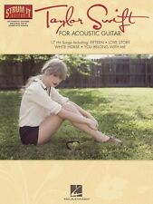 Taylor Swift for Acoustic Guitar Sheet Music Strum It Guitar Book NEW 000109717