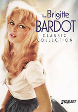 The Brigitte Bardot Classic Collection (DVD, 2009, 3-Disc Set) FREE SHIPPING