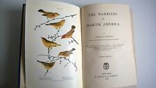 The Warblers of North America Chapman 1914 Antique Ornithology Birds Art Nests