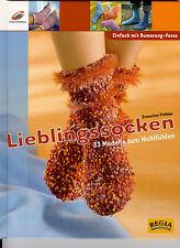 Lieblingssocken - Einfach mit Bumerang-Ferse / Ernestine Fittkau