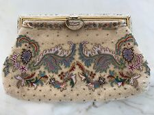 BASS BY JOSEF VINTAGE HANDMADE CLUTCH MADE IN FRANCE