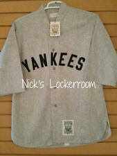 AUTHENTIC Mitchell & Ness 1929 New York Yankees Babe Ruth Throwback Jersey 40