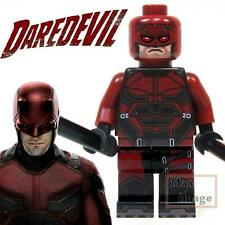 1pc Daredevil Minifigure Building Bricks Blocks Toy Marvel Custom Lego #017